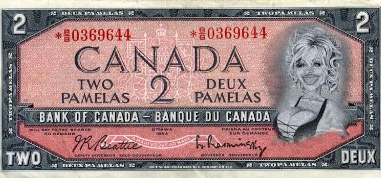 two dollar canadian