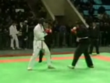 We now know that wearing an all-black gi is no substitute for having an actual black belt.